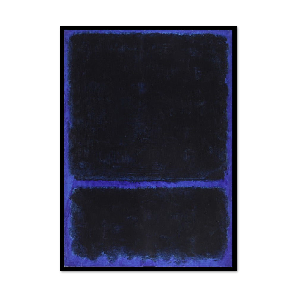 Mark Rothko, Untitled, ca. 1968, Framed Art Print with black frame in 3 sizes by 2020ArtSolutions