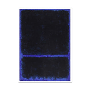 Mark Rothko, Untitled, ca. 1968, Framed Art Print with white frame in 3 sizes by 2020ArtSolutions