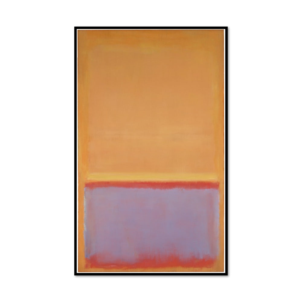 Mark Rothko, Untitled, 1954, Framed Art Print with black frame in 3 sizes by 2020ArtSolutions