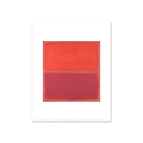 No. 3 by Mark Rothko, Art Print in 4 sizes by 2020ArtSolutions