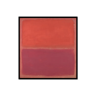 No. 3 by Mark Rothko, Framed Art Print in 3 sizes with black frame by 2020ArtSolutions