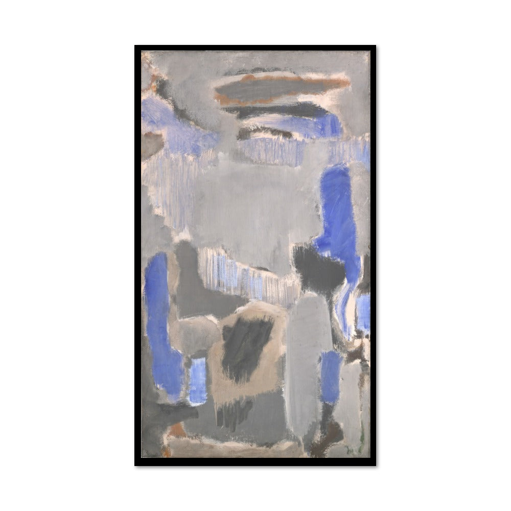 Mark Rothko, Untitled, 1947, Framed Art Print with black frame in 3 sizes by 2020ArtSolutions