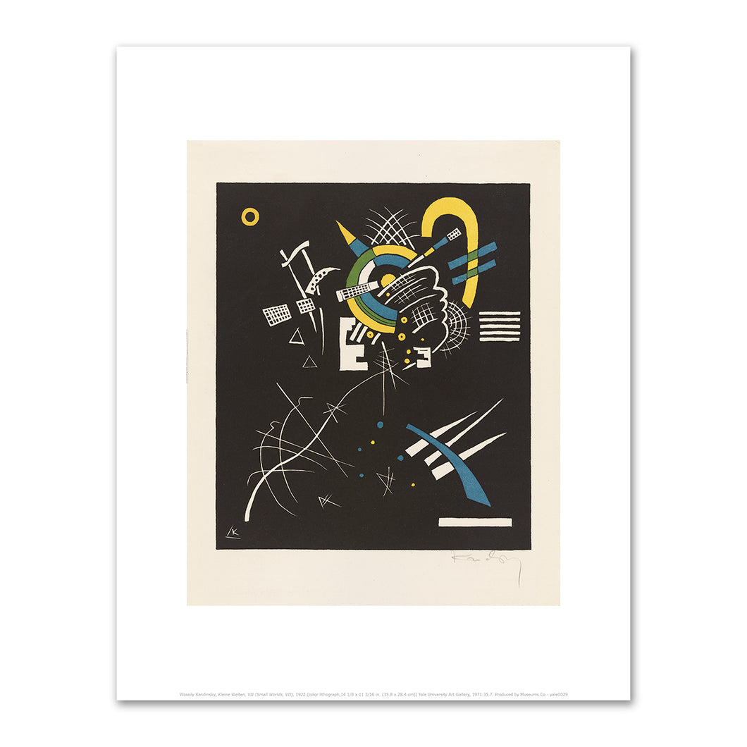Wassily Kandinsky, Kleine Welten, VII (Small Worlds, VII), 1922, art prints in various sizes by 2020ArtSolutions