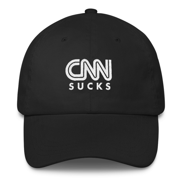 CNN Sucks Hat (Black)