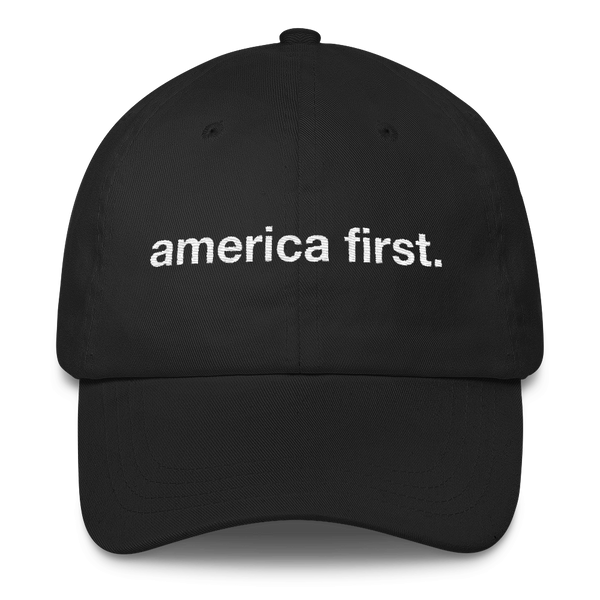 America First Hat (Black)