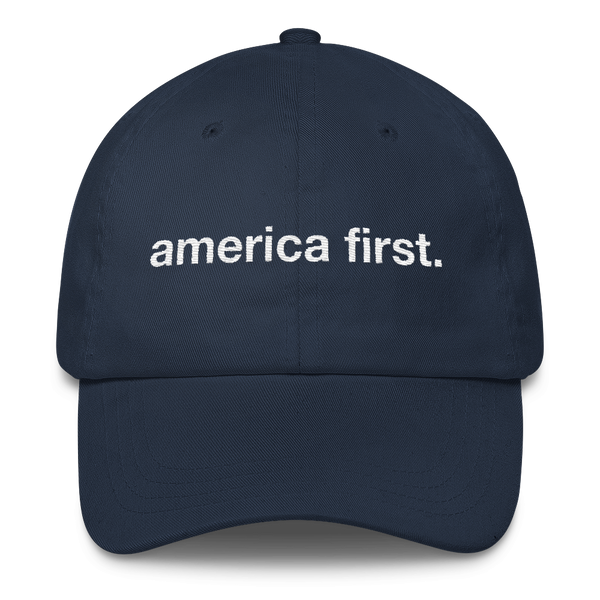 America First Hat (Navy Blue)