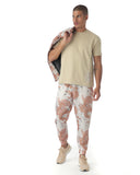 Camo tracksuit in a lightweight fabric jogger