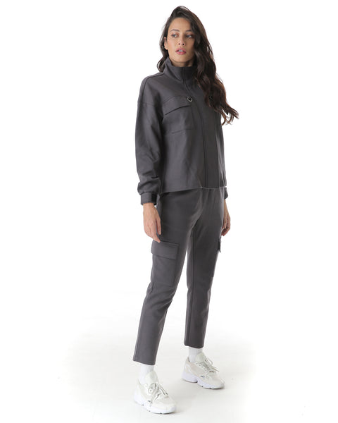 cargo style pants with side and back pocket detailing