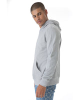 Grey hoodie backed with our signture style Cenmar pattern