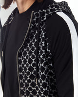 tracksuit With House of Cenmar pattern in black