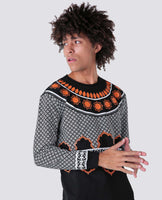 Signature House of Cenmar Pattern Sweater