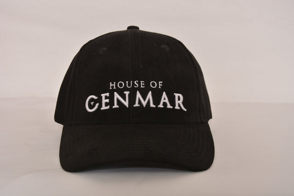 Tie back with House of Cenmar. Double black with white