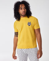 Yellow T shirt with Cenmar Wolf