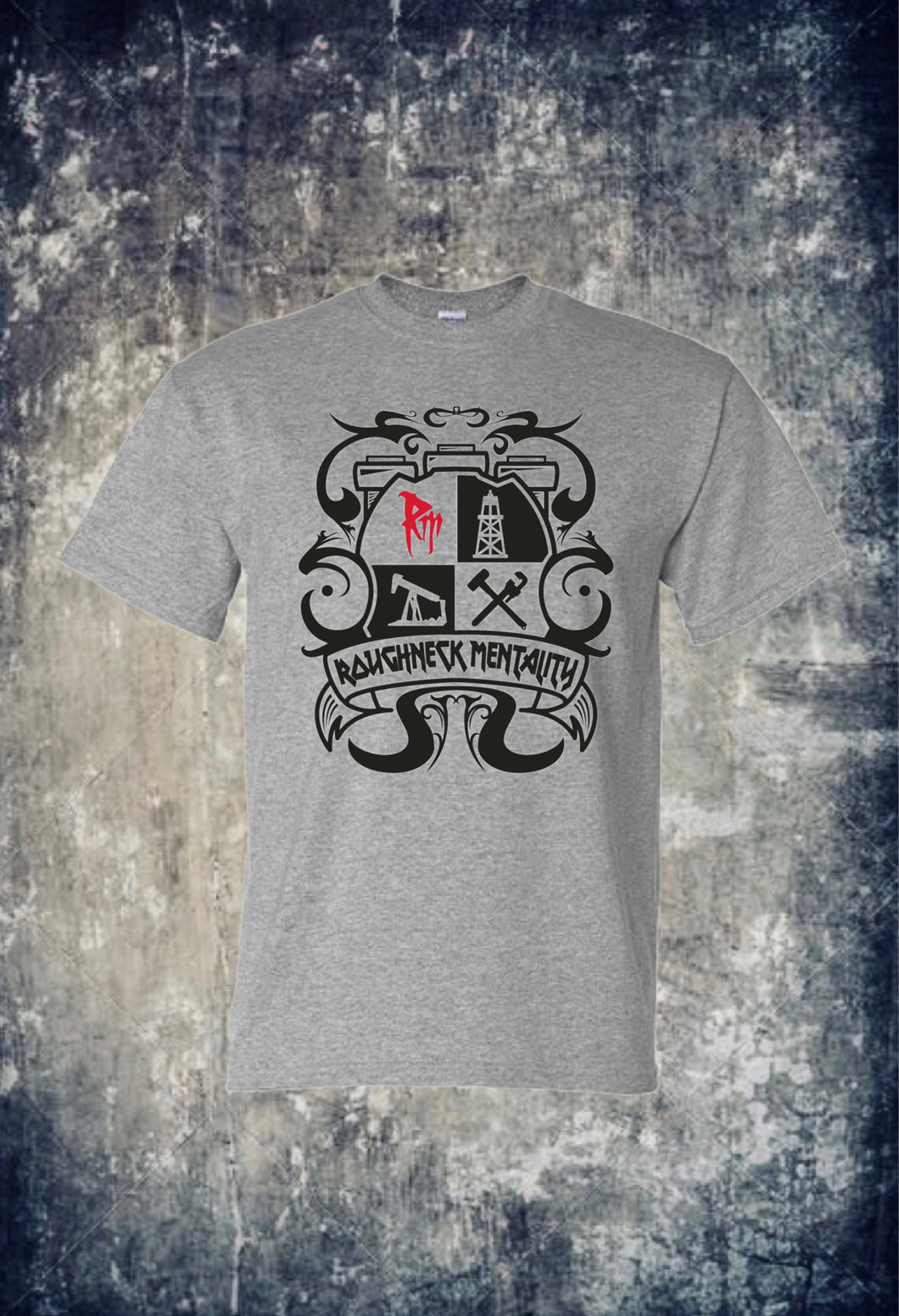 Roughneck Mentality Crest T-Shirt