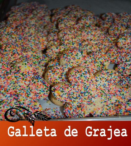 Galleta con Chispas de colores