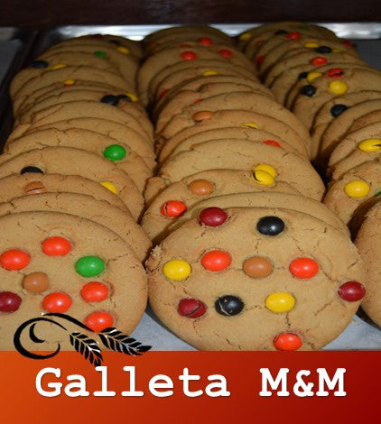 Galleta de M&M