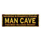 MAN CAVE Cigars Vintage Looking Metal Sign Home Decor 6x18 106180032023