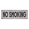 NO SMOKING Vintage Look Rustic 6x18 Metal Sign Chic Retro 106180035083