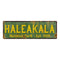 Haleakala National Park Rustic Metal 6x18 Sign Cabin Wall Decor 106180057016