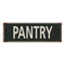Pantry Vintage Look Shabby Chic Gift Metal Sign 6x18 106180062035