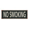 No Smoking Vintage Look Shabby Chic Gift Metal Sign 6x18 106180062044