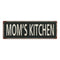 Mom's Kitchen  Vintage Look Shabby Chic Gift Metal Sign 6x18 106180062056