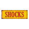 SHOCKS Vintage Looking Metal Sign Shop Oil Gas 6x18 Garage 106180064010