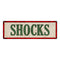 SHOCKS Vintage Looking Metal Sign Shop Oil Gas 6x18 Garage 106180064019