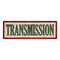 TRANSMISSION Vintage Looking Metal Sign Shop Oil Gas 6x18 Garage 106180064024