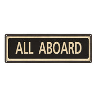 All Board Vintage Looking Metal Sign Home Decor 6x18 106180066024