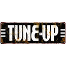 Tune Up Garage Shop Vintage Looking Metal Sign 6x18 106180069019