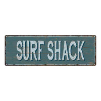 Beach Bum Beach Style Wood Look Sign Gift Green 6x18 Metal Decor 106180086079