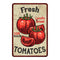 Fresh Tomatoes Kitchen Vintage Look Chic 8x22 Metal Sign 108120020065