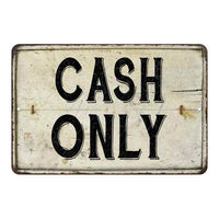 Cash Only Vintage Look Chic Distressed 8x12108120020147