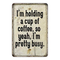 I'm holding a cup of coffee, so Vintage Look Chic Distressed 8x12108120020230