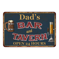 Dad's Green Bar & Tavern Personalized Rustic Sign Decor 8x12 108120047002