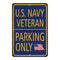 U.S. Navy Parking Only Military Police 8x12 Metal Sign 108120062005