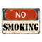 No Smoking Sign Vintage Wall Décor Signs Art Decorations Tin Gift