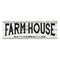 Farmhouse Chic White Wood Sign Wall Décor Gift 6 x 18 Wood Sign B3-06180028167