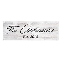 Personalized Wood Sign Rustic Looking Wall Décor Wedding Gift B3-06180063001