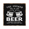 Answer is Beer Rustic Looking Inspiration Funny Wood Sign Wall Décor 8 x 8 Wood Sign B3-08080061065