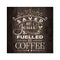 Saved by Jesus, Coffee Rustic Looking Inspiration Faith Wood Sign Wall Décor 8 x 8 Wood Sign B3-08080061076