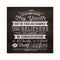 Let no man despise thy youth, Timothy Scripture Rustic Looking Wood Wall Décor 8 x 8 Wood Sign B3-08080061082