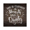 She is Clothed in Strength & Dignity Rustic Looking Wood ProverbsWall Décor 8 x 8 Wood Sign B3-08080061084
