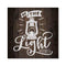 Be the Light, Mathew Scripture Rustic Looking Faith Wood Sign Wall Décor 8 x 8 Wood Sign B3-08080061092