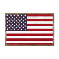 United States Flag  America Wood Sign Rustic Wall Décor Gift 12x18 B3-12180051052