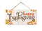 Happy Thanksgiving Hanging Wood Sign 5x10 SP-05100001005