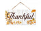 Thankful Hanging Wood Sign 5x10 SP-05100001006