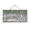 "Good Tidings of Comfort and Joy Wood Christmas Sign 5""x10"" SP-05101001001"