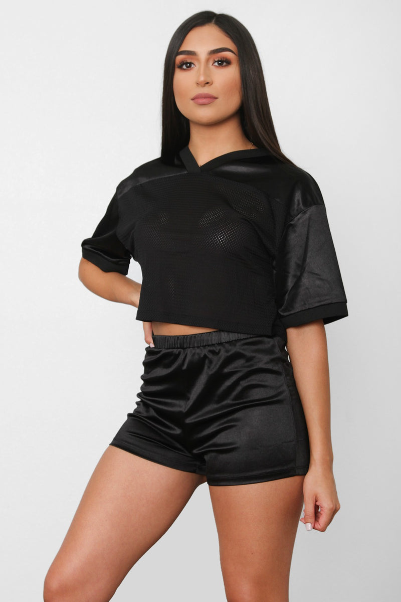 On The Courts Short Set - Black